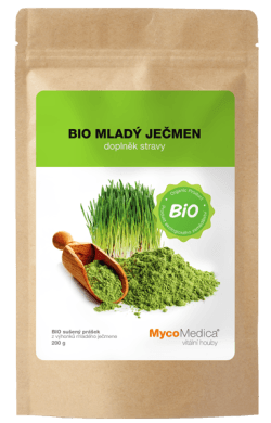 Ječmen-bio-powder