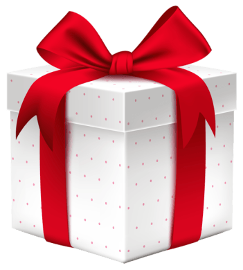 White_Gift_Box_with_Red_Bow_PNG_Image